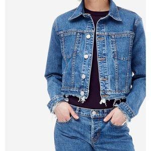 NWT Hudson Garrison Denim Jacket